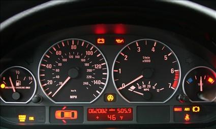 Kontrolki Samochodowe Na Desce Rozdzielczej Sklep Z