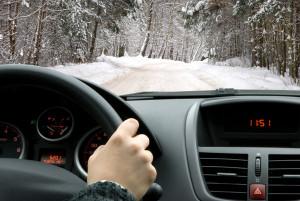 jazda samochodem w czasie mrozów